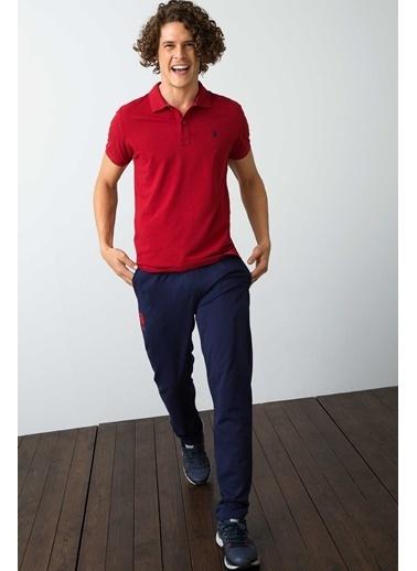 U.S. Polo Assn. Polo Yaka Tişört Kırmızı